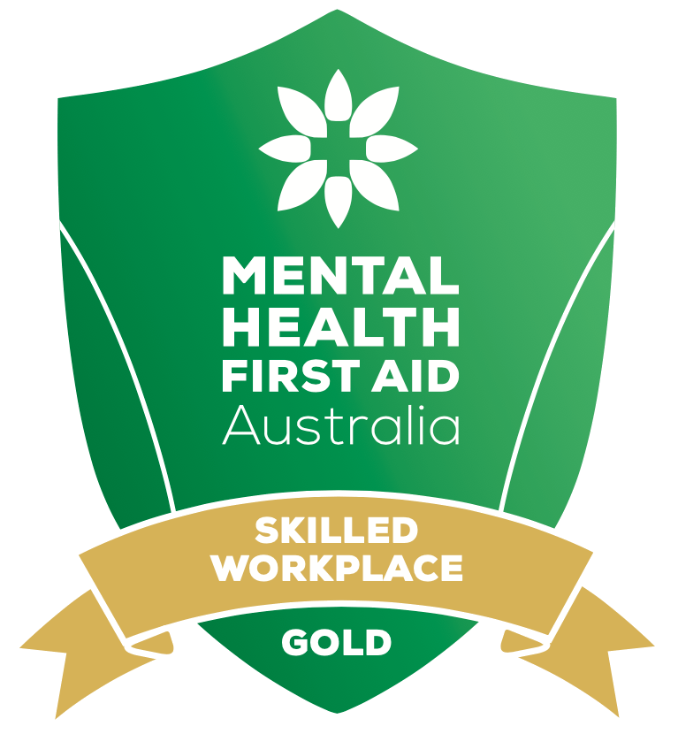 The Mental Health First Aid Gold badge